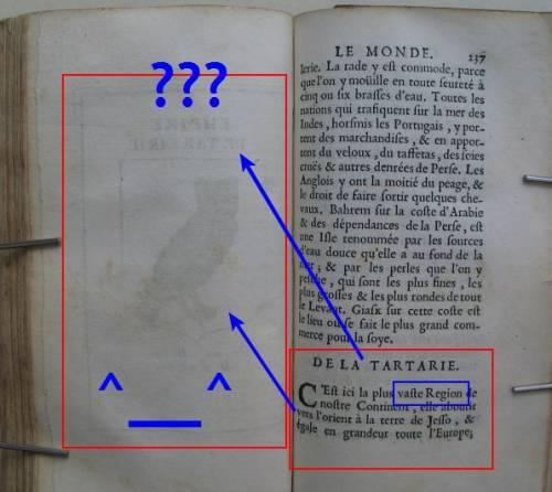 Тартария в энциклопедии Дюваля Дабвиля (DuVal d'Abbwille)